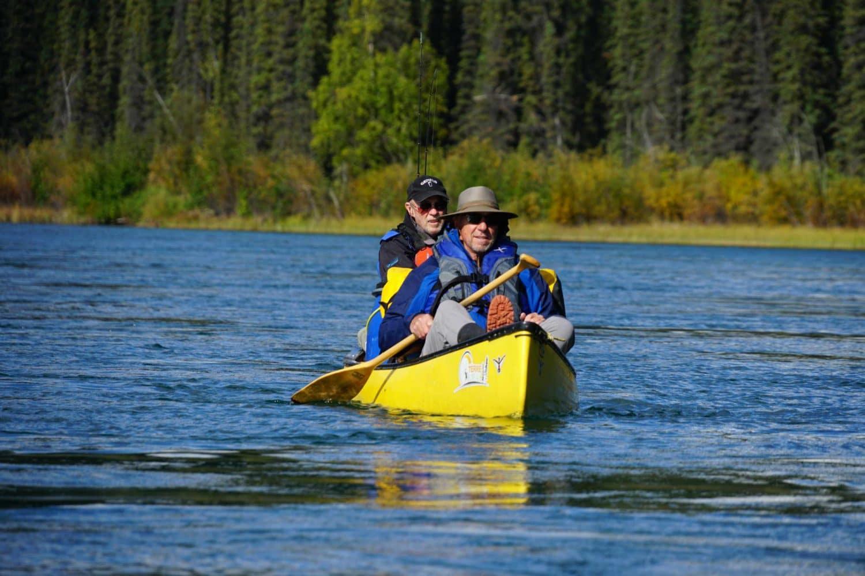Paddling-Yukon-River