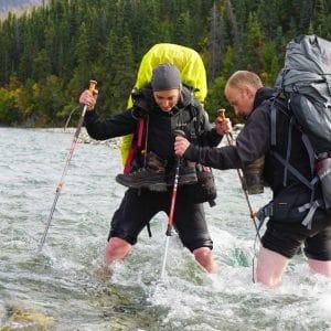 River-crossing-kluane-trekking-backpacking-yukon