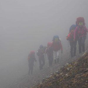 Yukon-backpacking-trekking-in-the-fog