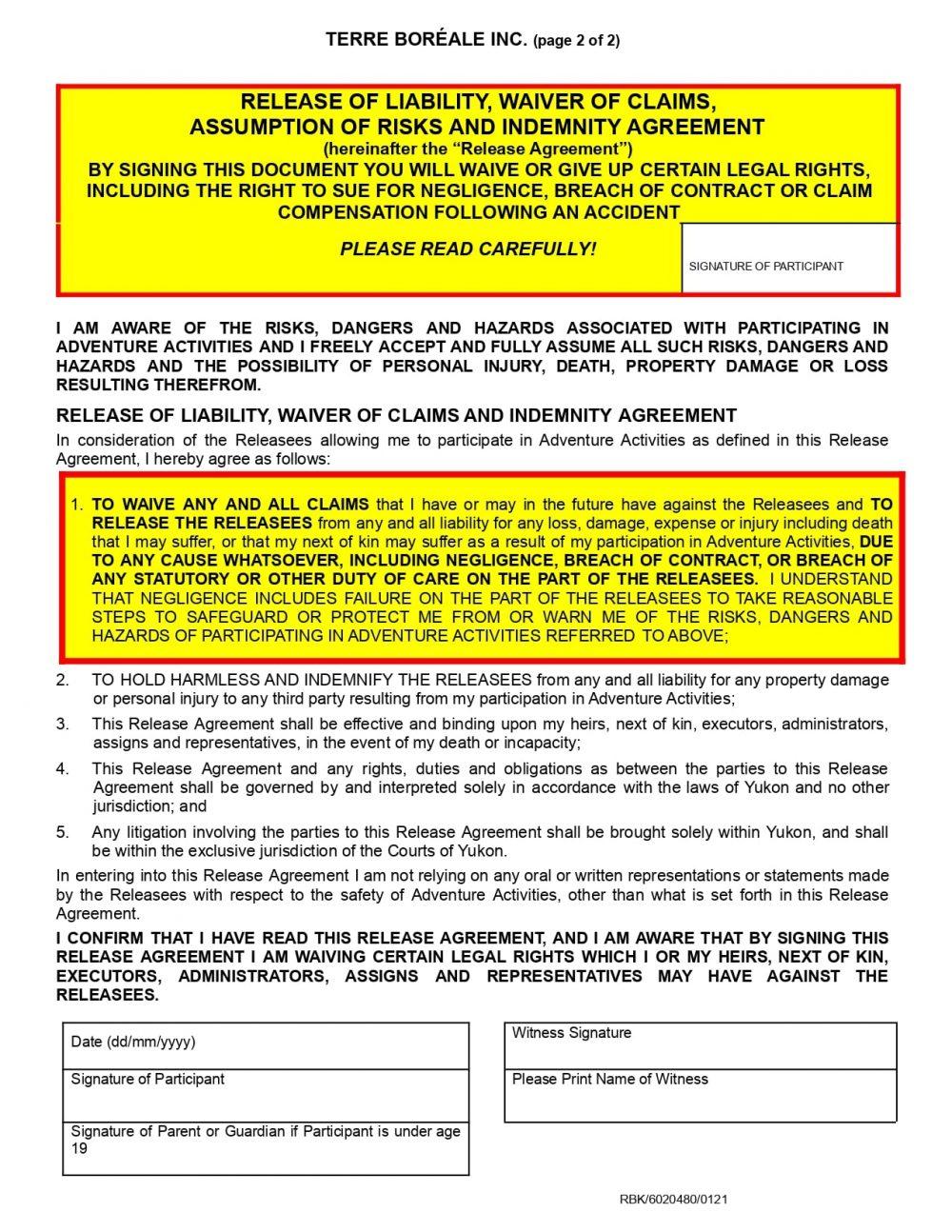 Terre Boréale Inc. RELEASE - WTAY - ADVENTURE ACTIVITIES - JAN 2021.docx_page-0002
