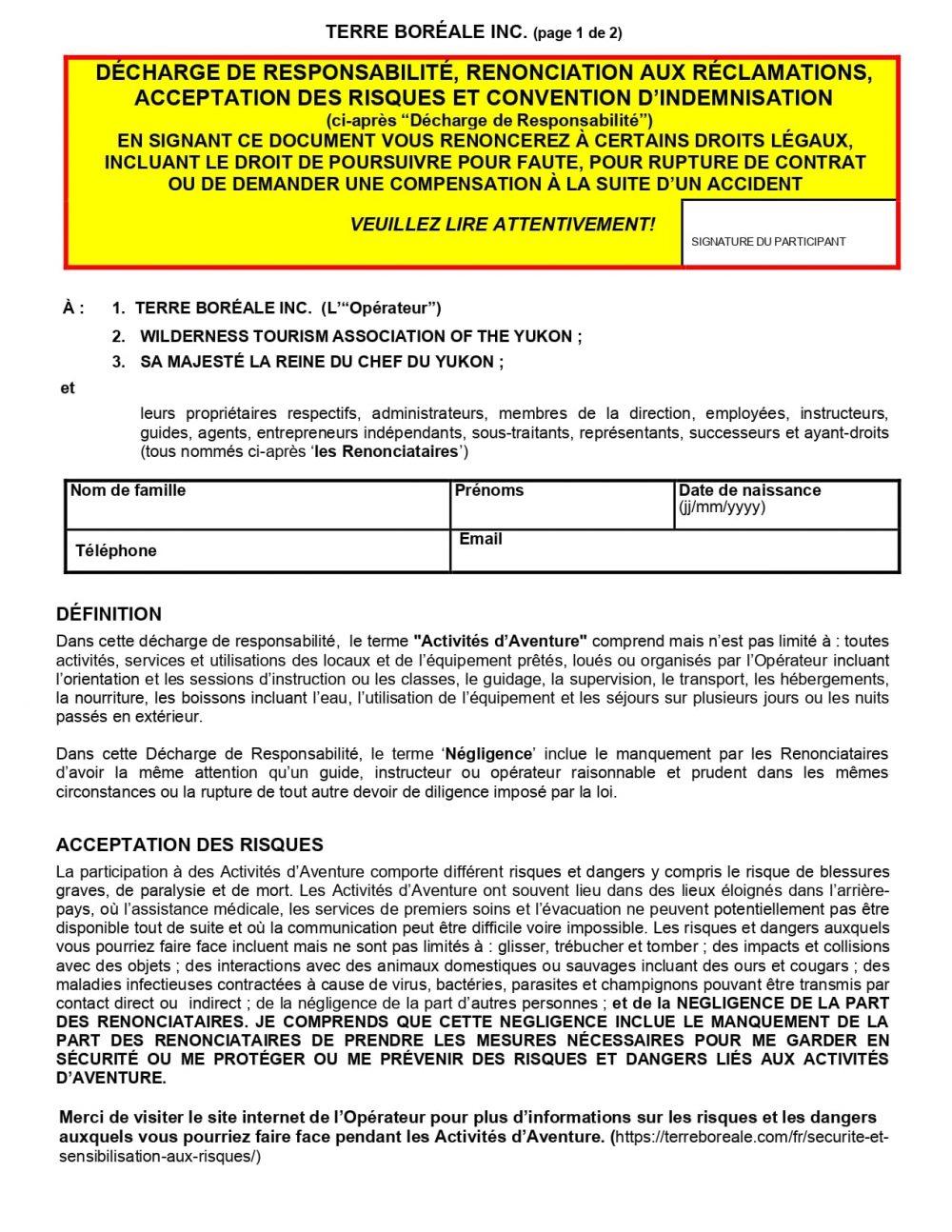 Terre Boréale-Décharge de responsabilité 2021_1